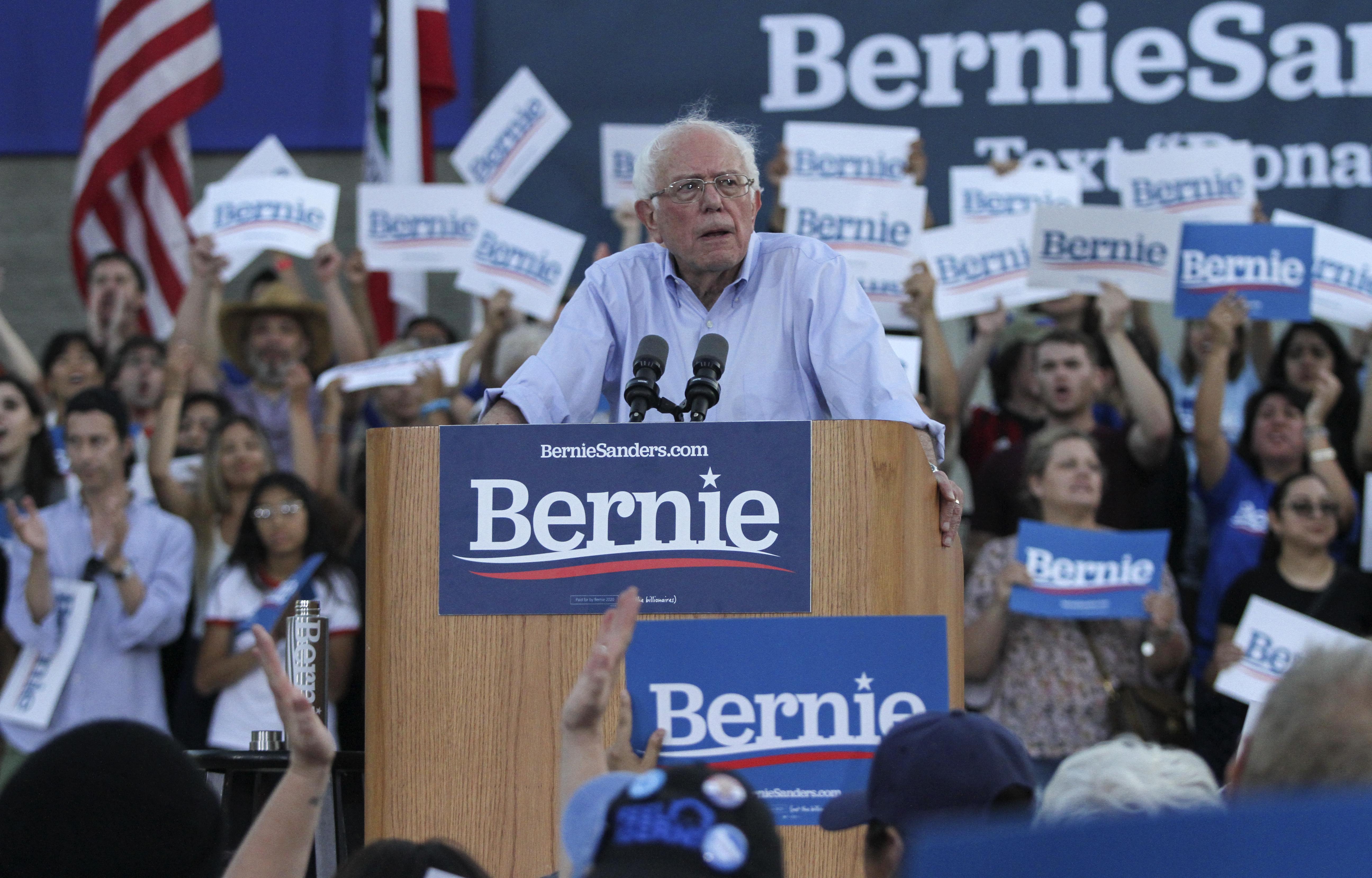 Lbcc Summer 2020.Presidential Candidate Bernie Sanders Is Coming To Long