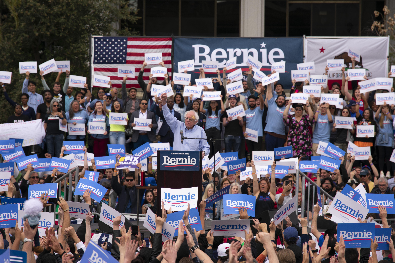 Lbcc Summer 2020.Bernie Sanders Stops By Los Angeles For His Presidential